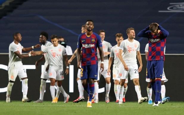 Barcelona perdió por 8-2 ante Bayern Munich (REUTERS/Rafael Marchante/Pool)