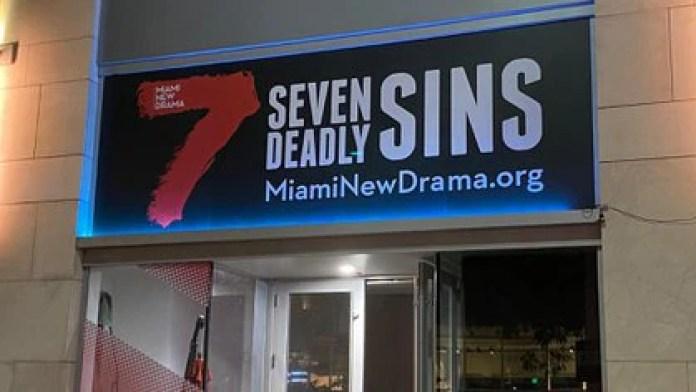 Es una producción de Miami New Drama