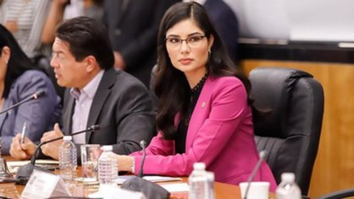 Geraldine Ponce was involved in a scandal on May 30, when a video about her and Beatriz Gutiérrez, AMLO's wife, came to light (Photo: Instagram @geraldineponcem)