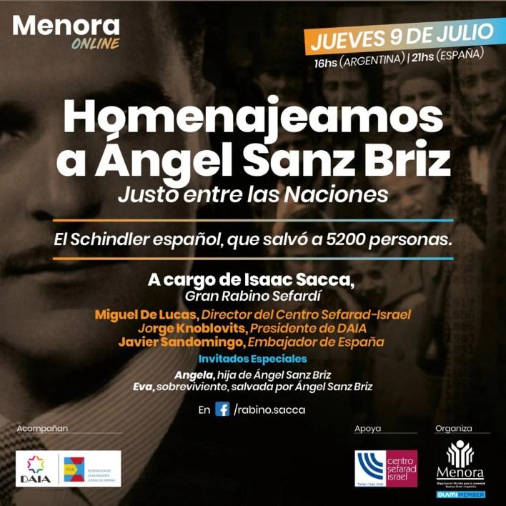 Angel Sanz Briz Nazismo en hungria