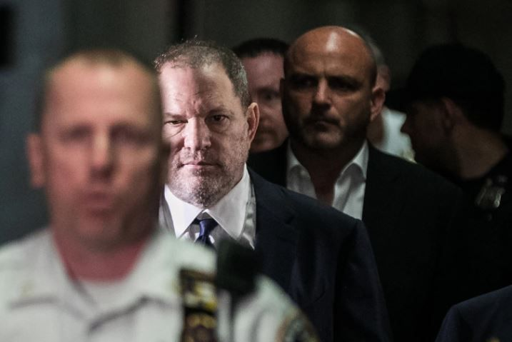 Harvey Weinstein, el productor hollywoodense acusado de acoso y abuso sexual. Credit: Jeenah Moon para The New York Times