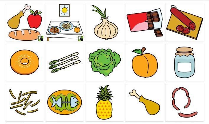 Los pictogramas pueden ser grandes aliados para favorecer la comunicación en el caso de personas con TEA (Arasaac)