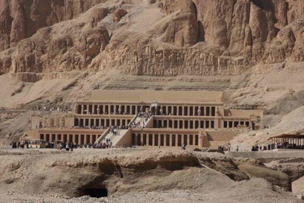 El Valle de los Reyes en Egipto (Foto: especial)