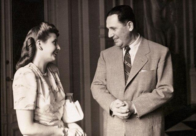 Juan Domingo Perón y Eva Duarte