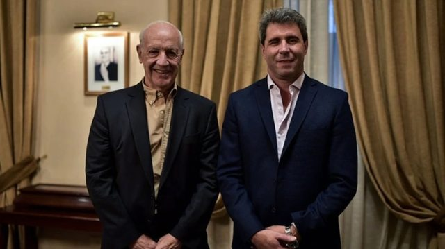 El gobernador de San Juan, Sergio Uñac, respaldó la candidatura de Lavagna