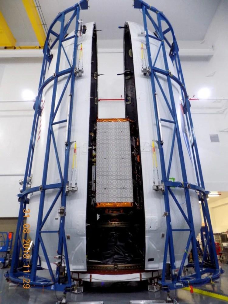 El satélite SAOCOM 1-A fue sometido en los últimos dos meses a un período de prueba y calibración. (Crédito: Prensa CONAE)
