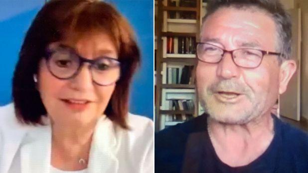 Patricia Bullrich - Nestor Roncaglia