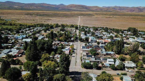 El pueblo de Loncopué en Neuquén