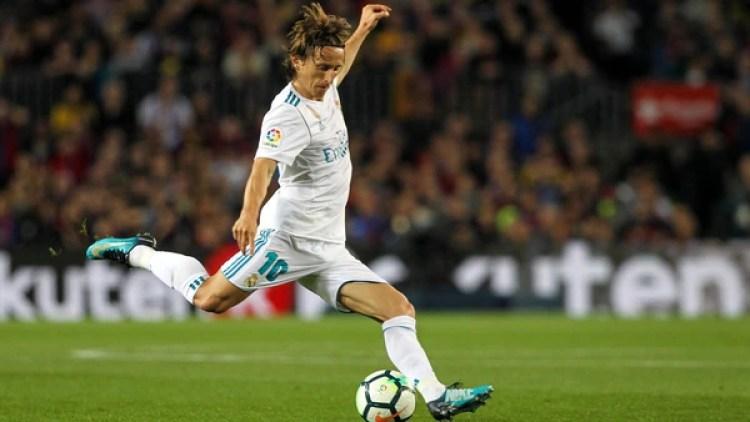 Modric es una pieza clave en el centro del campo del Real Madrid