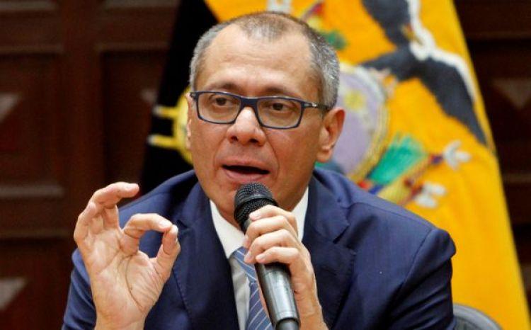 El vicepresidente de Ecuador Jorge Glas