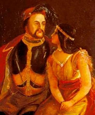 John Rolfe, un rico plantador de tabaco, se enamoró de Pocahontas y decidió hacerla su mujer