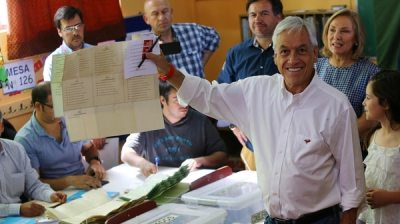 Sebastián Piñera se impuso son amplia diferencia(REUTERS)