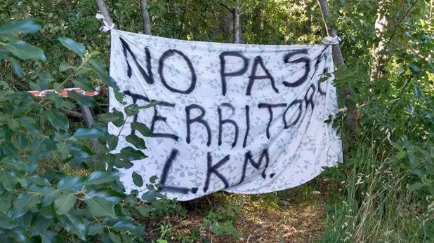 Terrenos ocupados en Villa Mascardi desde hace 3 años (@PPTenel13)