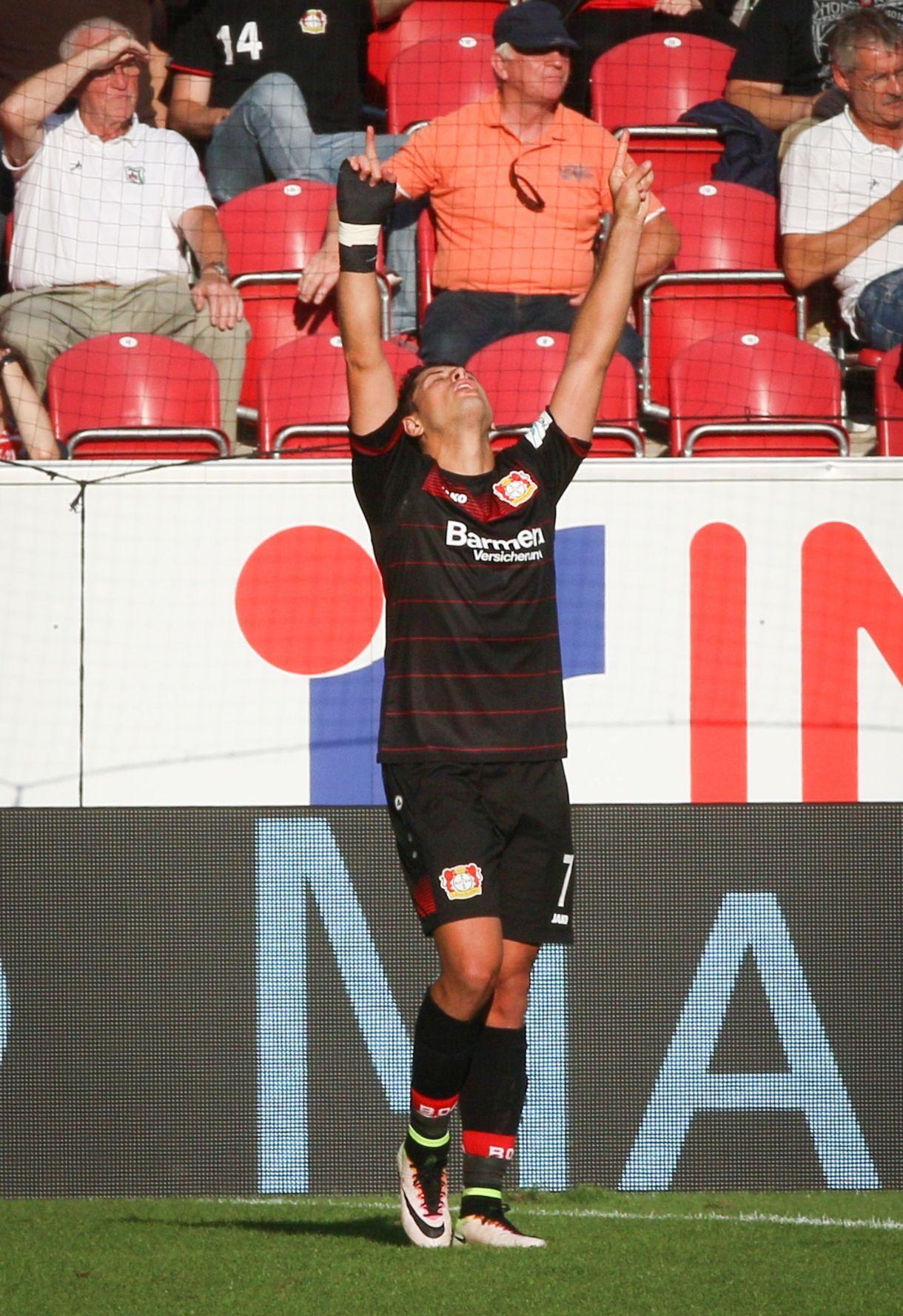 Hernández también tuvo un paso por el Bayer Leverkusen alemán (Foto: AP)