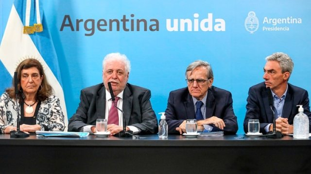 El ministro de Salud, Ginés González García, se refirió a la capacidad de testeo que tiene la Argentina (Casa Rosada)