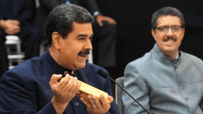 """""""¿Dónde está la fortuna fugada por Maduro?"""", es la pregunta de todos (Crédito: Prensa Presidencial)"""