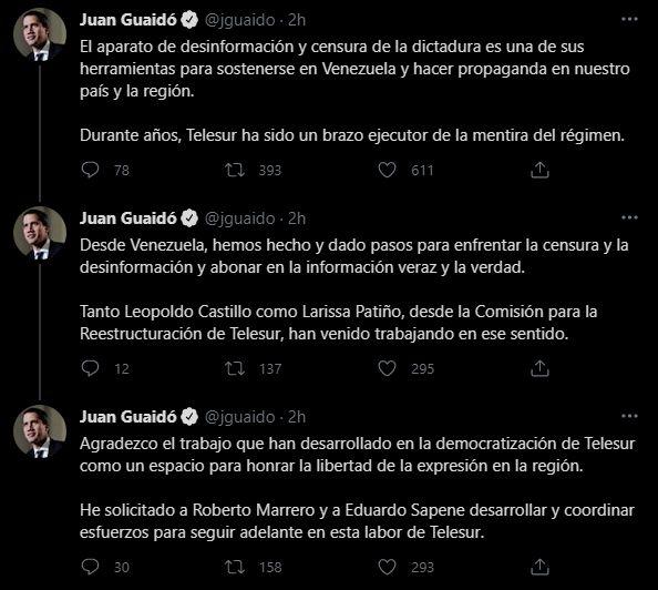 Guaidó Telesur