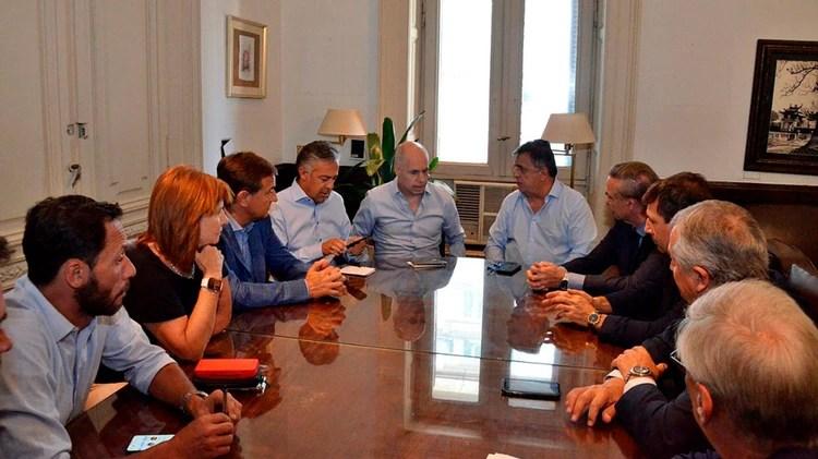 Reunión de la Mesa Nacional de Juntos por el Cambio