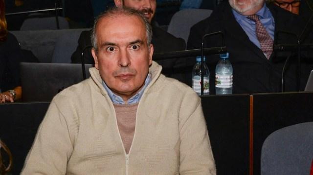 El ex funcionario en la primera audiencia del juicio oral (Julieta Ferrario)