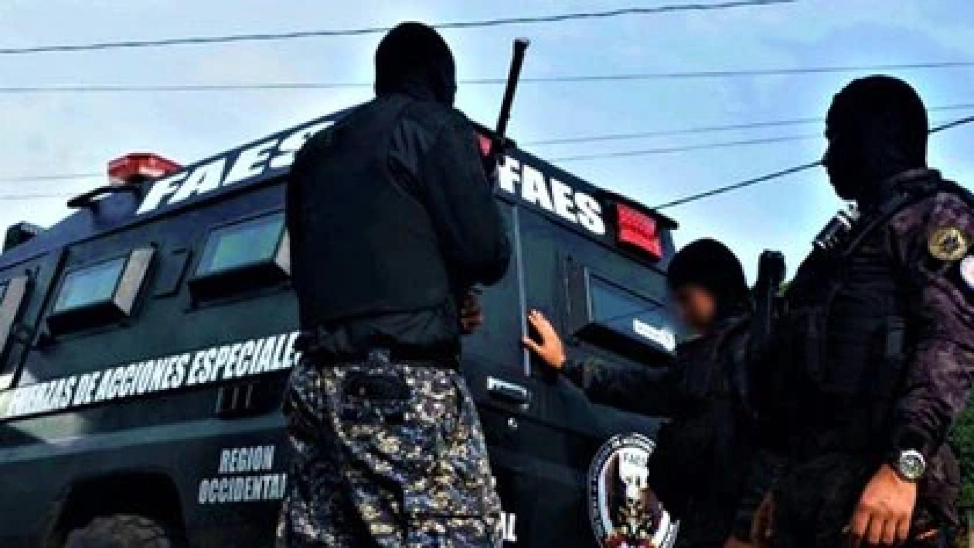 El FAES actúa como escuadrón de exterminio de la dictadura de Maduro