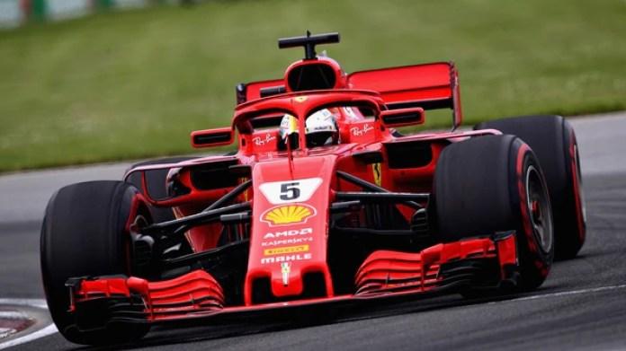 Vettel consiguió su 50° triunfo en la Fórmula 1 (Getty Images/AFP)