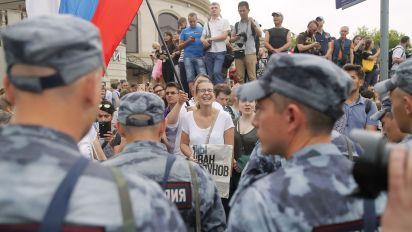 Las manifestaciones en Rusia requieren de aprobación estatal o son consideradas ilegales (Reuters)