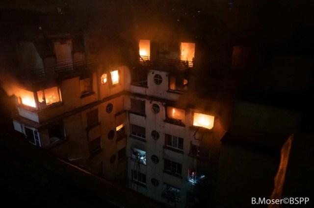 (B. Moser/Brigade des Sapeurs-Pompiers de Paris (BSPP) via REUTERS)