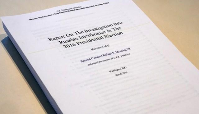 El esperado informe del fiscal Mueller (Reuters)