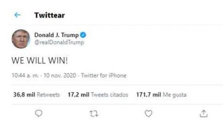 Donald Trump tuits