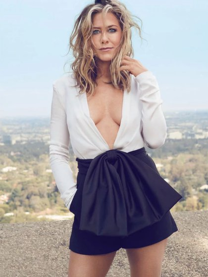 Jennifer Aniston para la revista Instyle