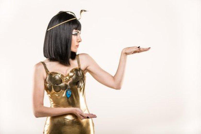 Cristina Pérez como Cleopatra