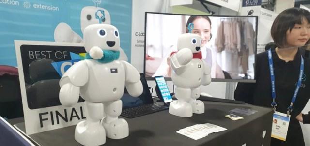 Pibo, un robot asistente que empatiza con las emociones del usuario.