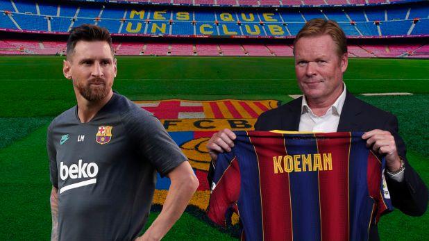 Messi Koeman Reunion