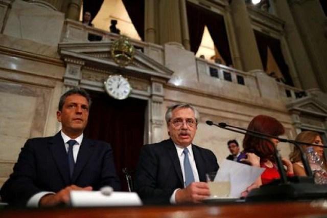 Alberto Fernández prometió al Congreso el envío del proyecto de ley para la interrupción voluntaria del embarazo (REUTERS)