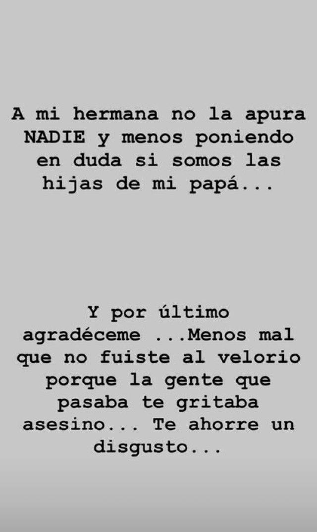Los mensajes de Dalma Maradona para Matías Morla (Fotos: Instagram)