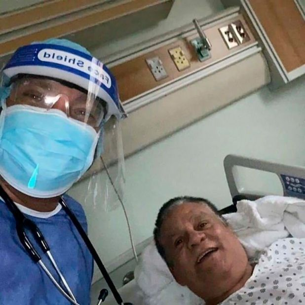 Roberto Mano de Piedra Duran coronavirus