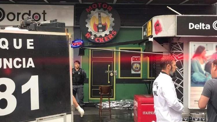 Camata fue asesinado frente a un bar