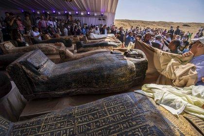 Estas presentaciones generaron gran expectativa (Khaled DESOUKI / AFP)