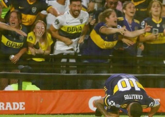 Tevez fue figura y clave para el último título de Boca pero expuso sus insalvables diferencias con la actual dirigencia (REUTERS/Agustin Marcarian)
