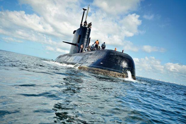 El submarino ARA -San Juan,