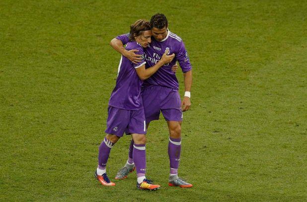 Luka Modric criticó a Cristiano Ronaldo por su ausencia (Reuters / Phil Noble Livepic)