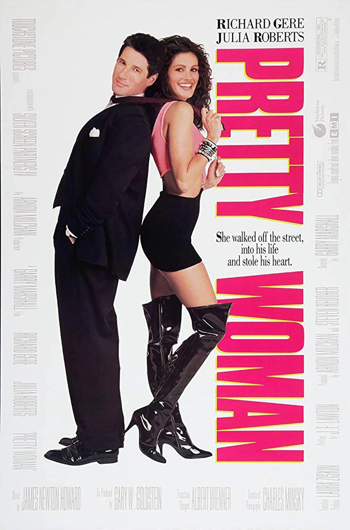 En el póster promocional de la película usaron el cuerpo de una modelo en lugar del de ella