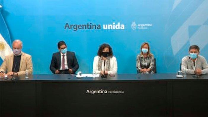 Vizzotti estuvo acompañada por los ministro de Salud de la Provincia y la Ciudad: Daniel Gollán y Fernán Quirós