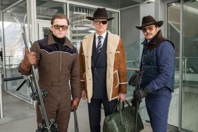 Taron Egerton, Clin Firth y Jack Deverton (Foto: Archivo)