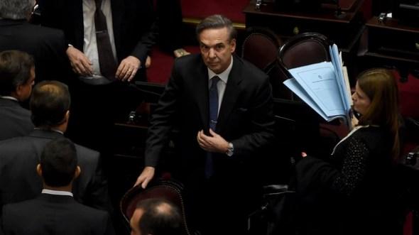Miguel Ángel Pichetto apoya la ley con cambios (Nicolás Stulberg)