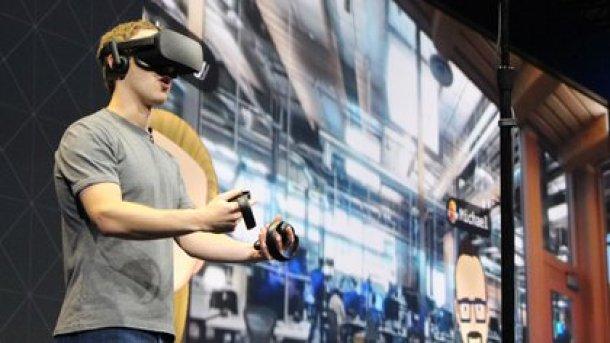 El reloj se sumaría a la cartera de hardware que tiene la compañía, como las gafas de realidad virtual Oculus (AFP)