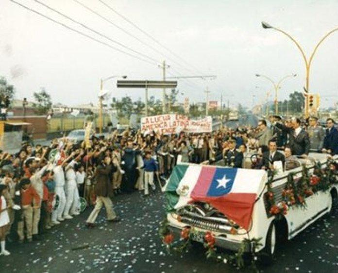 Allende visitó México en diciembre de 1972, dos años después de su triunfo en las urnas chilenas (Foto: Cortesía/ Especial)