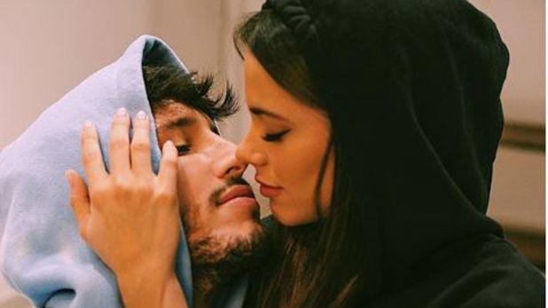 Laimagen con la que Yatraconfirmó su romance con Tini (Foto: Instagram)