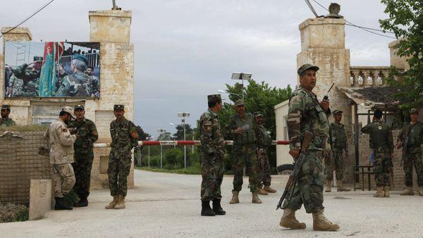 soldados del ejército de Afganistán. (Archivo)