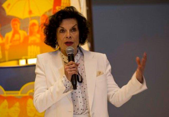La activista y defensora de los derechos humanos Bianca Jagger. EFE/Jorge Torres/Archivo